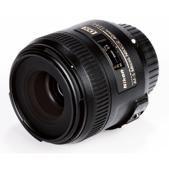 Lente Nikon AF-S DX Micro-Nikkor 40mm - F/2.8G *