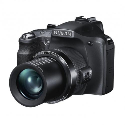 Câmera Digital Fujifilm Finepix SL310  + SD 16GB + Bolsa - 14MP, Sensor CCD, Zoom Óptico 30x, Video Full HD, Tela de 3