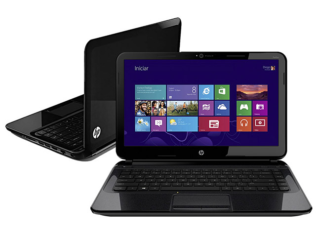 Notebook ULTRABOOK HP 14-B080BR Intel Core I5, Memória 4GB, HD 500GB + SSD 32GB, USB 3.0 Tela LED 14 (showroom)