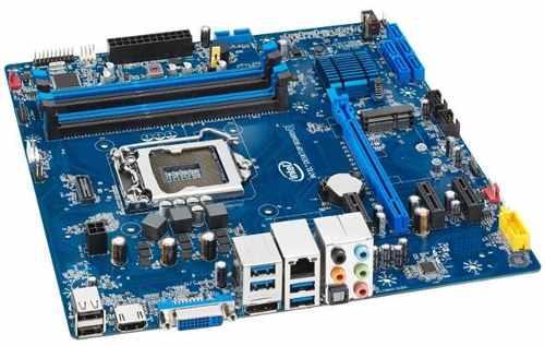 PLACA MAE INTEL BOXDH87RL MATX I5/I7  DDR3 1600MHZ  LGA 1150  (INTEL 4° GERAÇÃO)