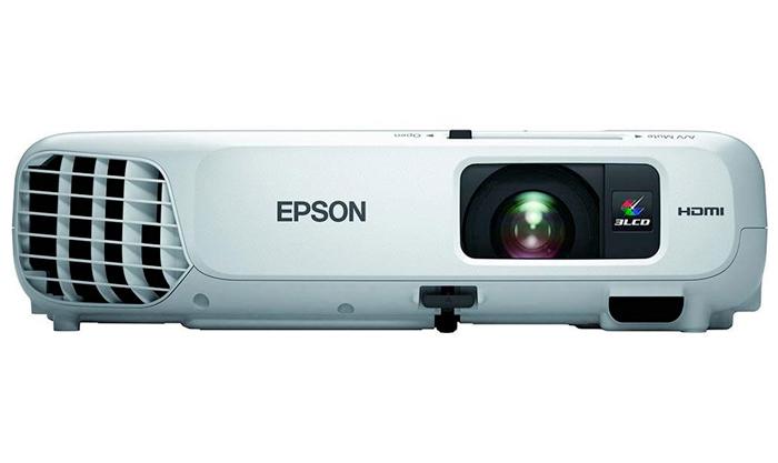 Projetor Epson PowerLite X24+ / 3LCD, Lumens 3500, Contraste 10.000, Wireless, HDMI, USB, Zoom Óptico, Alto falantes incorporados *