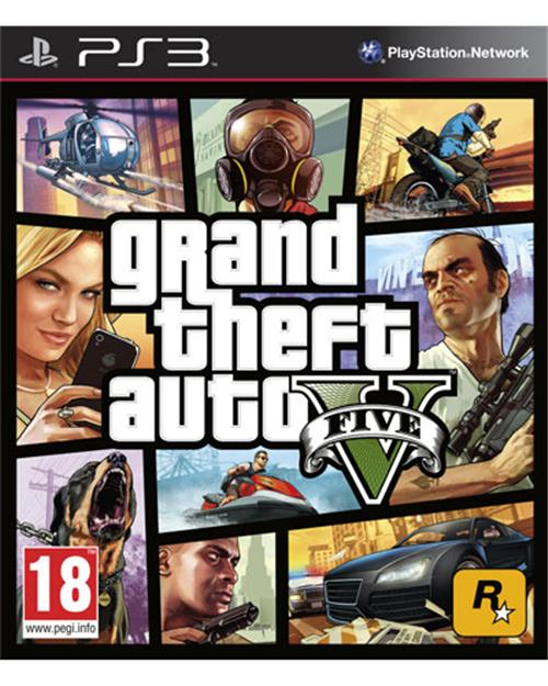 Grand Theft Auto GTA V – para PS3