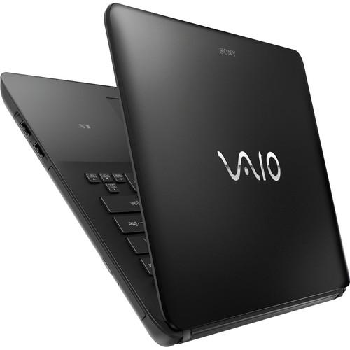 Notebook Sony Vaio Ultrafino SVF14-212CXB Intel Core i3 (3ª Geração), mem. 4GB, HD 500GB, DVD-RW, Tela LED 14´ Windows 8 (PRETO)