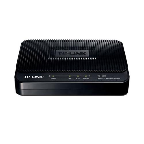 Modem Roteador TP-Link TD-8816 +ADLS2 - 24Mbps,1 Porta Ethernet *