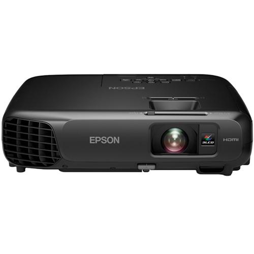 Projetor Epson PowerLite S18+ com Bolsa - 3LCD, Lumens 3000, Contraste 10.000, HDMI, Wireless Ready, Alto falantes incorporados, E-Torl *