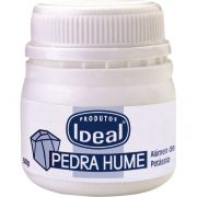 Pedra Hume S�lida Pote 50g - Ideal