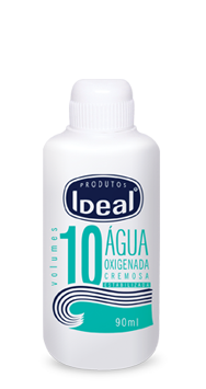 Água Oxigenada Cremosa 10 Volumes 90ml - Ideal