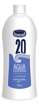 Água Oxigenada Cremosa 20 Volumes 900ml - Ideal