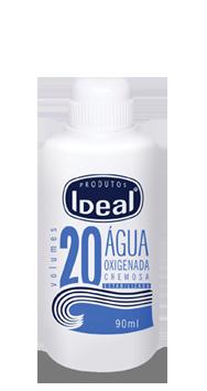 Água Oxigenada Cremosa 20 Volumes 90ml - Ideal