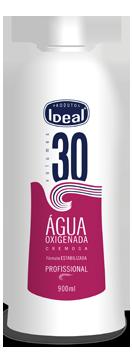�gua Oxigenada Cremosa 30 Volumes 900ml - Ideal