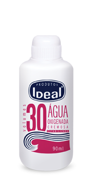 Água Oxigenada Cremosa 30 Volumes 90ml - Ideal