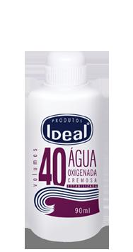 Água Oxigenada Cremosa 40 Volumes 90ml - Ideal