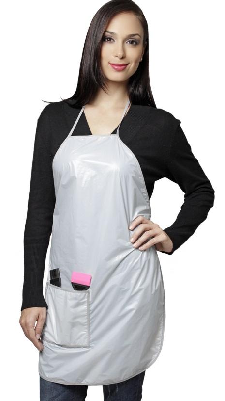 Avental Para Tintura Em Polivinil/Plástico - 01 Unidade