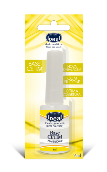 Base Cetim Com Silicone 9 ml - Ideal