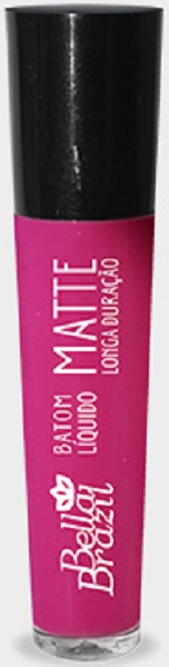 Batom Líquido Matte longa duração Cor 03 - Bella Brazil