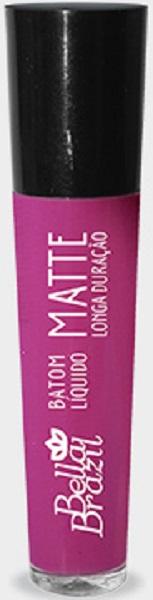 Batom Líquido Matte longa duração Cor 04 - Bella Brazil