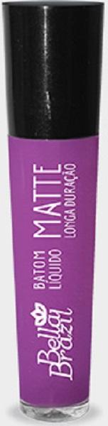 Batom L�quido Matte longa dura��o Cor 05 - Bella Brazil