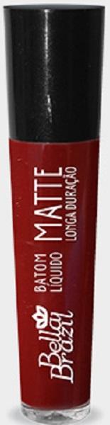 Batom Líquido Matte longa duração Cor 08 - Bella Brazil
