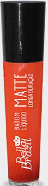 Batom Líquido Matte longa duração Cor 09 - Bella Brazil