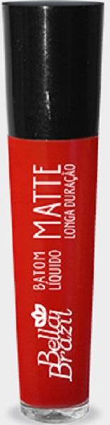 Batom Líquido Matte longa duração Cor 11 - Bella Brazil