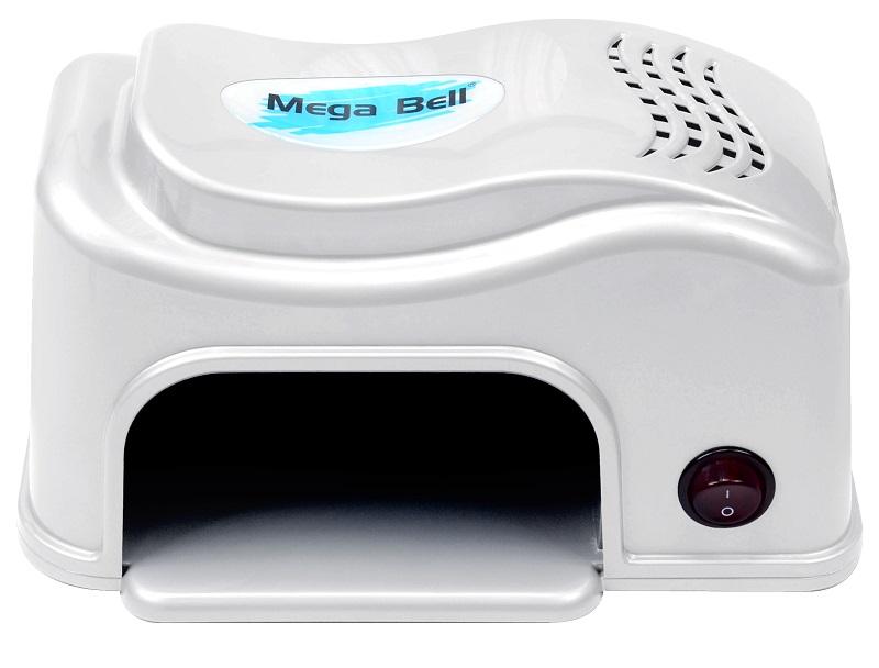 Cabine LED Compact Para Unhas de Gel e Acrigel - Mega Bell Branca