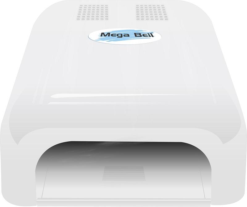 Cabine LED Para Unhas de Gel e Acrigel - Mega Bell Branca