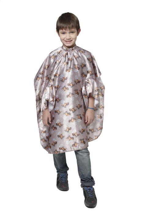 Capa de Corte Seda Estampada Infantil com Botão e Elástico