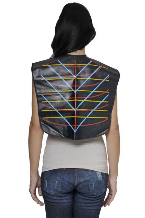 Capa Geométrica Para 3 Tipos de  Corte de Cabelos