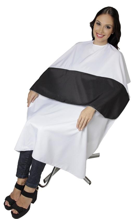 Capa Para Corte De Cabelos Top Tel Conforto Com Velcro - 01 Unidade