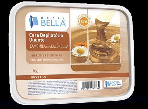 Cera Quente para Depilação Camomila e Calêndula - Depil Bella