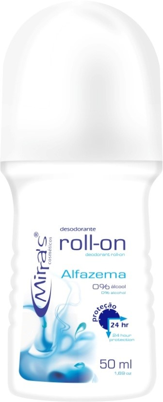 Desodorante Roll-on Afazema Antitranspirante 50ml - Mirra´s