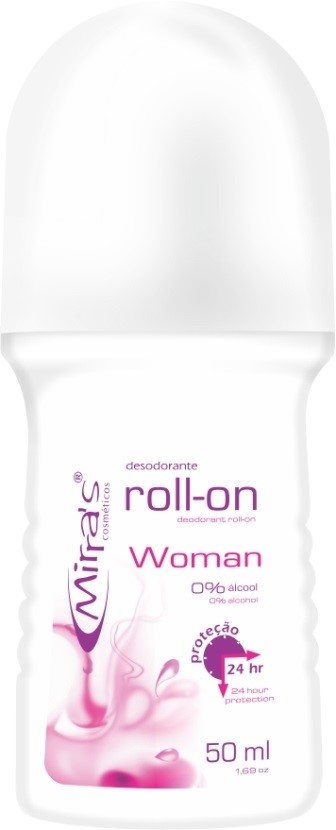 Desodorante Roll-on Woman Antitranspirante 50ml - Mirra�s