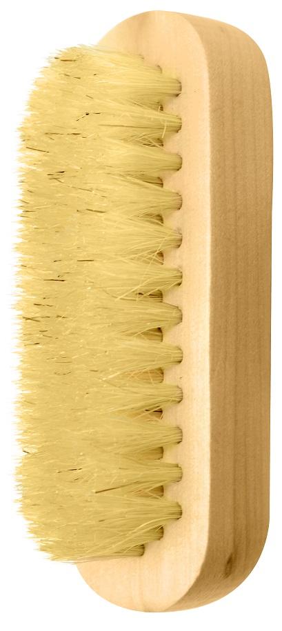 Escova De Madeira Oval Para Limpeza Das Unhas - 01 Unidade
