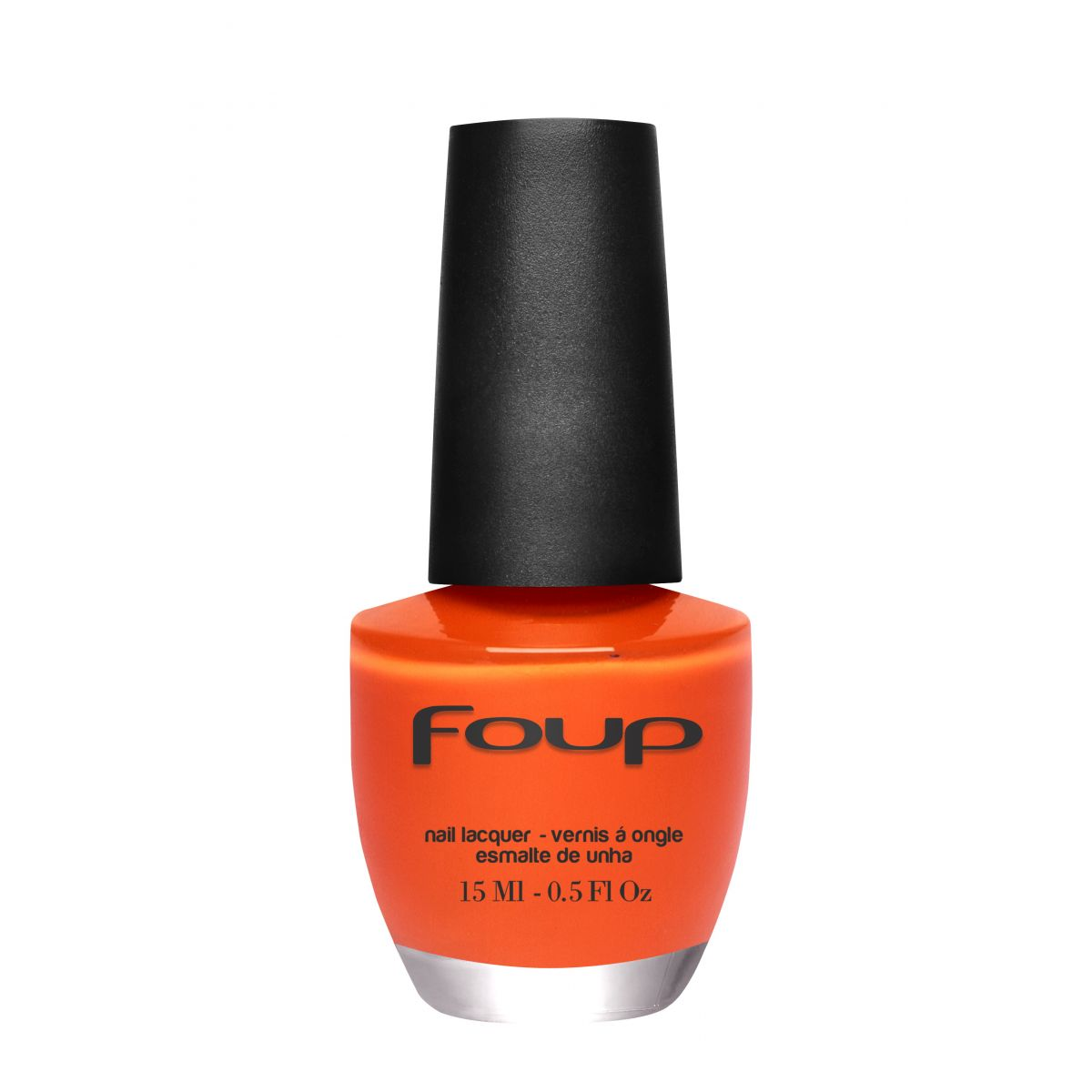 Esmalte Cremoso Orange da Marca Foup - 15ml