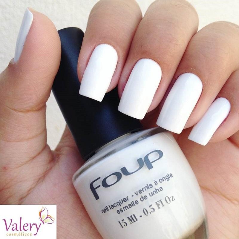 Esmalte Cremoso White - Foup 15ml