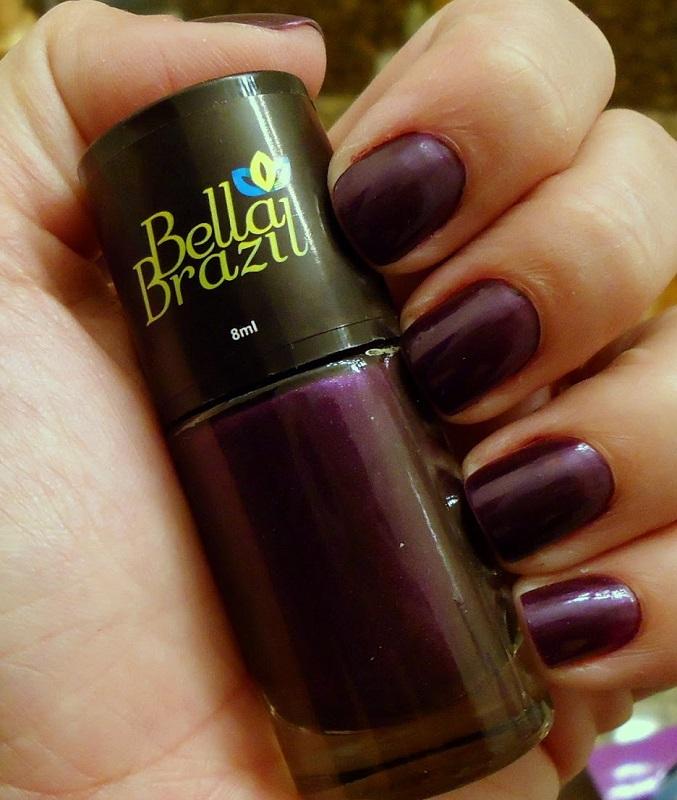 Esmalte Metalizado Bonito Bella Brazil - 8ml