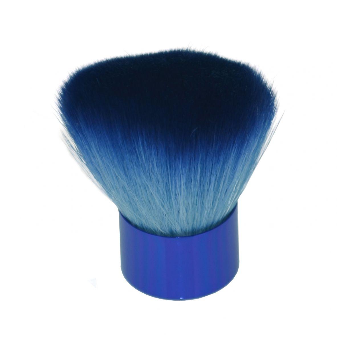 Espanador Para Maquiagem Bicolor Luxo 1 Unidade - Importado