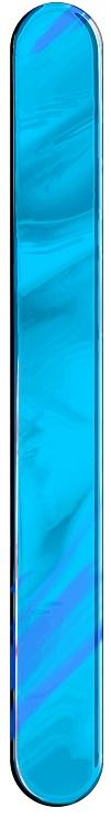 Espátula Plástica Azul Descartável - 50 Unidades