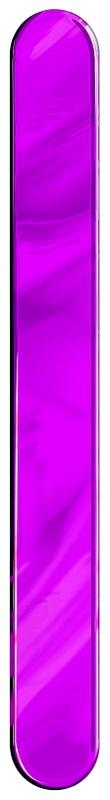 Espátula Plástica Lilás Descartável - 50 Unidades
