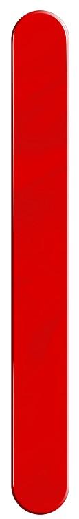 Espátula Plástica Vermelha suporta 180°C - 25 Unidades