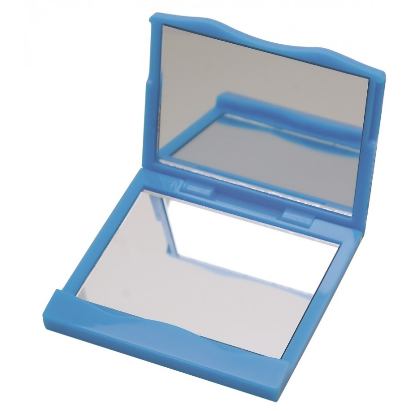 Espelho Duplo Quadrado Para Bolsa - 01 Unidade