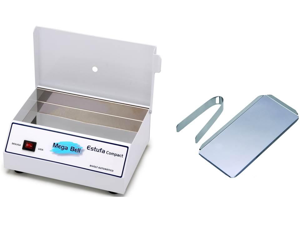 Esterilizador para Manicure Esterilizador de Alicates Bandeja e Pinça