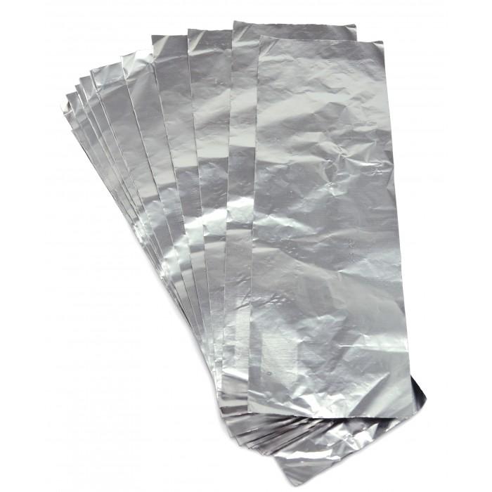 Folha de Papel Alumínio para Mechas 300 unid 9.5 x 30cm