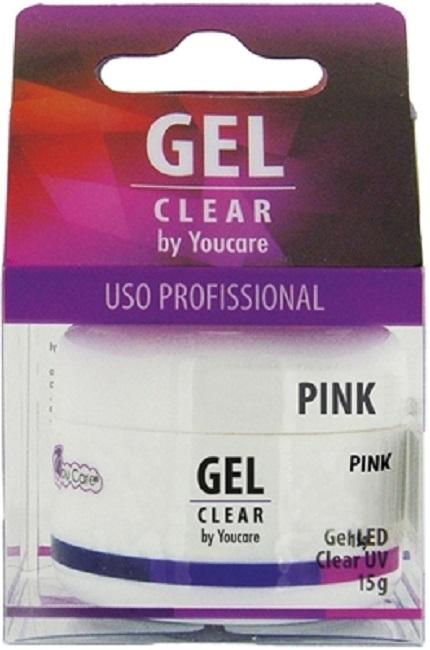 Gel Profissional Rosa Para Unha em Gel ou Acrílica - You Care