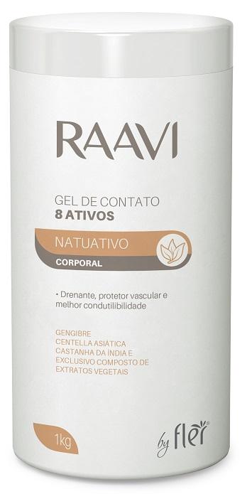 Gel de Contato Potencializador 8 Ativos - Raavi