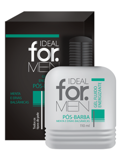 Gel Fluido Energizante P�s-Barba 110 ml - Ideal