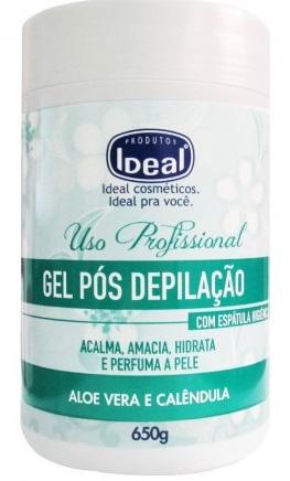 Gel Pós Depilação Aloe Vera e Calêndula - 650g Ideal