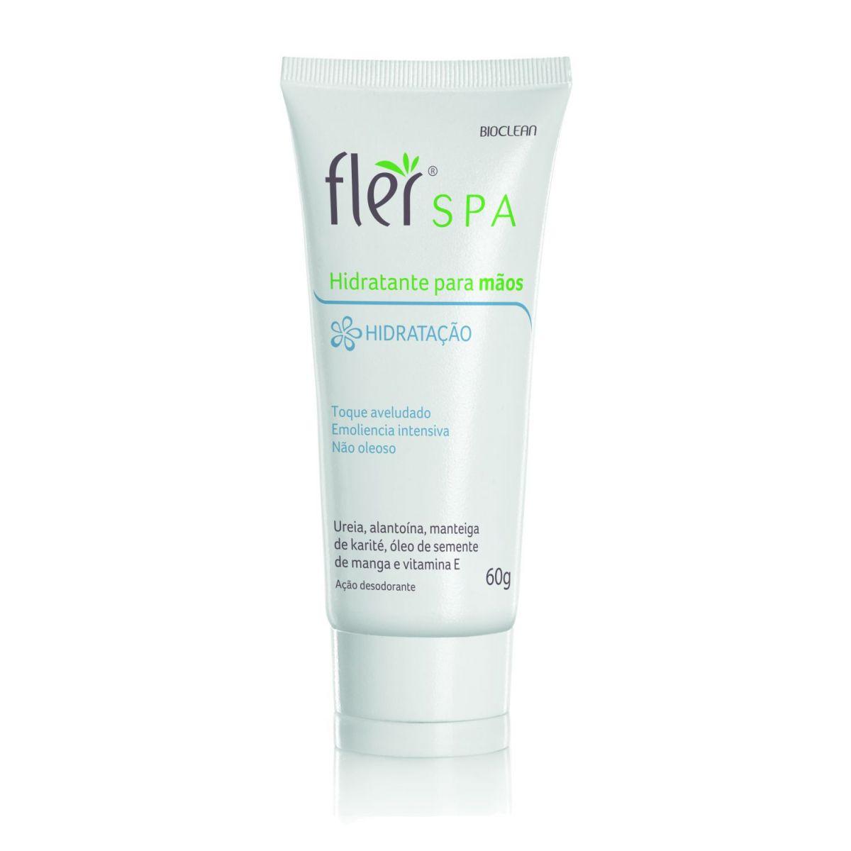 Hidratante para Mãos com Uréia e Vitamnina E 60g - Flér