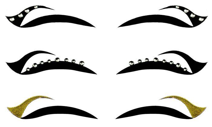 Kit Delineador Adesivo Para os Olhos EYE-1903