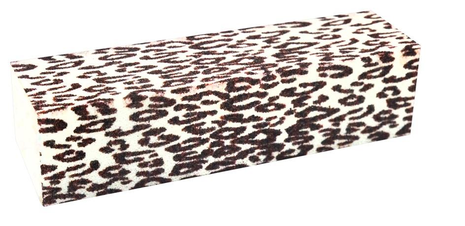 Lixa Cubo Estampa Zebra Para Acabamento De Unhas